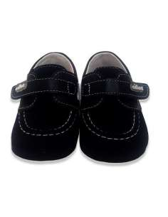 BOAT PRAM SHOES IN SUEDE CITOS 3203 NAVY