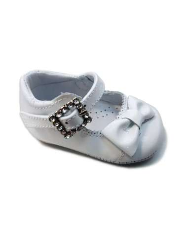 BABY SHOES IN PATENT LEATHER 3851 WHITE