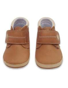 BABY BOOTS IN LEATHER 3601 CAMEL
