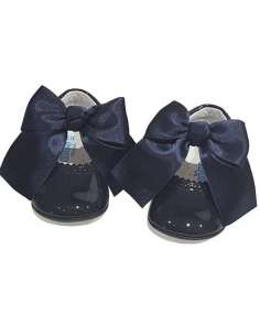 PRAM SHOES IN PATENT WITH...