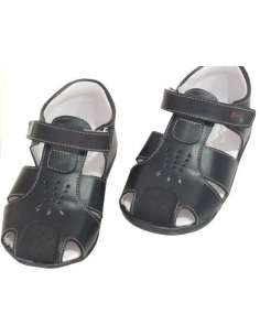 BOYS SANDALS IN LEATHER 4800