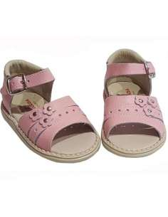 GIRLS SANDALS IN LEATHER...