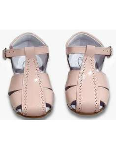 GIRLS SANDALS IN PATENT 4985 PINK