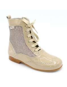 Glitter boots Bambi camel 4956