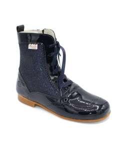 Glitter boots Bambi navy 4956