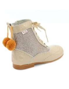 Glitter boots Bambi with...