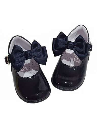 Baby Mary Janes Butterfly in patent...
