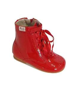 Patent boots Bambi red 4253