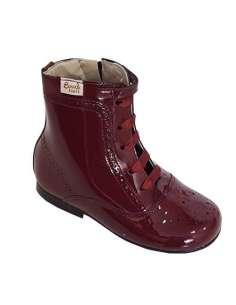 Patent boots Bambi burgundy...