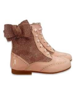 Glitter boots Bambi side...