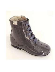 Patent boots Bambi dark...