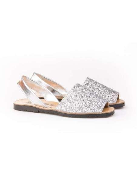 Ibicenca Glitter AngelitoS 204 plata