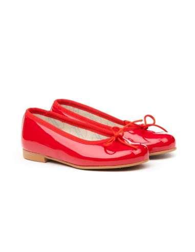Ballerina Patent AngelitoS 1565 red