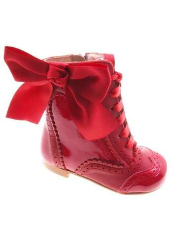 AngelitoS Boots in Leather and patent...