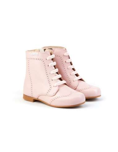 AngelitoS Boots in Leather 600 pink