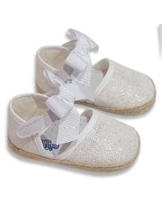 BABY CANVAS WITH BOW CITOS 3504 BEIG