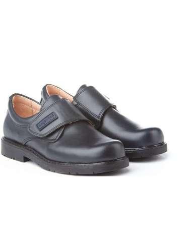 Blucher School Shoes AngelitoS 435 navy