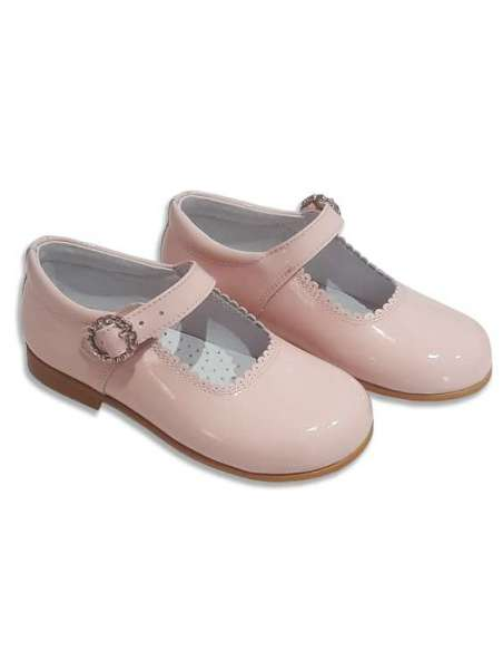 MARY JANES IN PATENT LEATHER COCOBOXI 6270-1 PINK