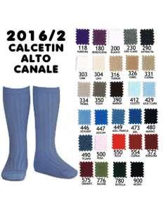 CALCETIN ALTO BASICO ACANALADO CONDOR 2016-2