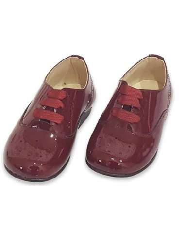 INGLESITO BOYS SHOES IN PATENT BAMBI...