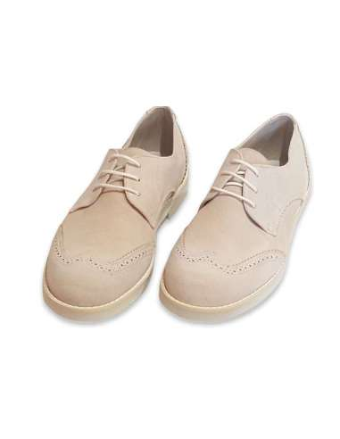 CEREMONY BOYS SHOES IN SUEDE BAMBI 4421