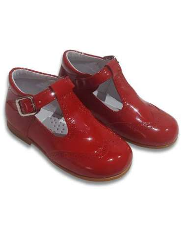 T-Bars in patent leather Cocoboxi...