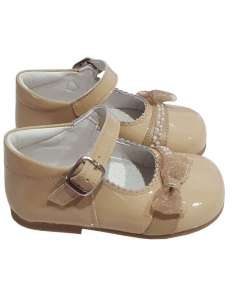 MARY JANES WITH BOW AND...