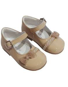 MARY JANES WITH BOW AND BUCKLE BAMBI 5146 CAMEL