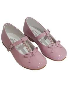 MARY JANES IN PATENT AND CRITAL COMBINED BAMBI 5225
