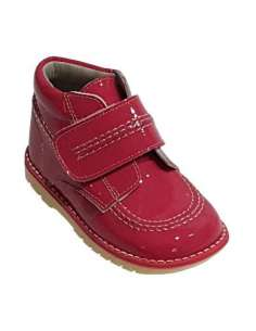 KICKERS BOOTS IN PATENT...