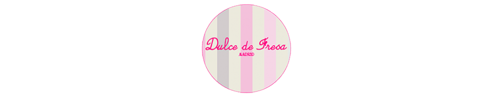 Dulce de Fresa Spanish clothes